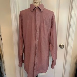 Men's Jos A Bank dress shirt size 16 1/2